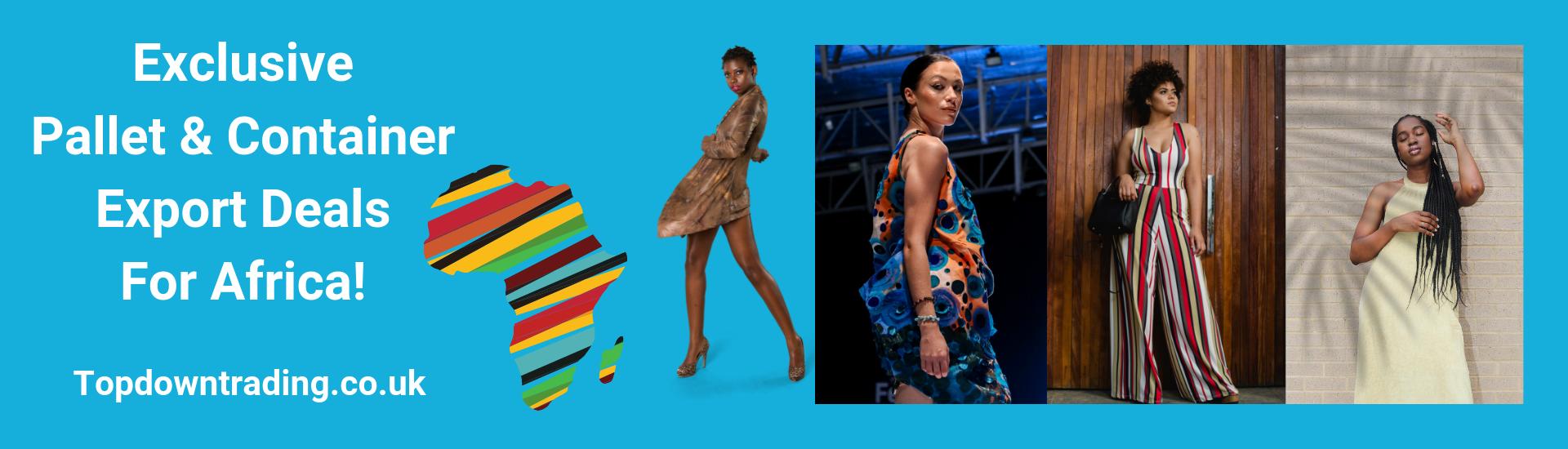Wholesale UK Fashion Export For Africa